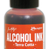 Alcohol Ink – Terra Cotta