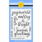 Sunny Studio Stamps – Festive Greetings stamp set (176)