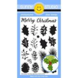 Sunny Studio Stamps – Christmas Trimmings stamp set (205)