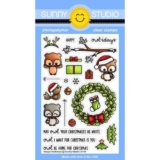 Sunny Studio Stamps – Happy Owlsdays stamp set (208)