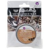 Finnabair Art Alchemy Metallique Wax – Aged Brass