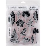 Tim Holtz / Stampers Anonymous CMS273 Leaf Prints