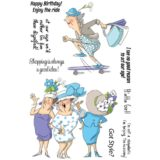 Art Impressions – SCO678 Got Style (clear stamp set)