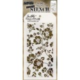 Tim Holtz / Stampers Anonymous – THS077 Floral stencil