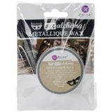 Finnabair Art Alchemy Metallique Wax – White Gold
