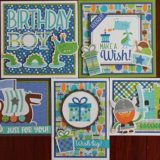 MC&S Card Kit – Doodlebug – Dragon Tales Kit 1