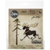 Tim Holtz / Sizzix 663103 Merry Moose die set – out of stock