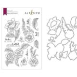 Altenew – Engraved Flowers (stamp and die bundle)