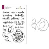 Altenew – Inked Rose (stamp & die bundle)