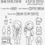 My Favorite Things – Friends At First Sip (stamp set)
