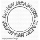 My Favorite Things – Happy Holidays Circle Frame die – out of stock