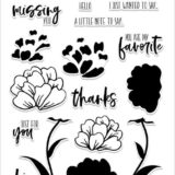 Altenew – Peaceful Blooms stamp set