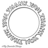 My Favorite Things – Thank You Circle Frame die
