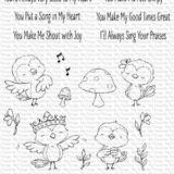 My Favorite Things – Tweet Friends (stamp set) – out of stock