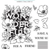 Concord & 9th – 10362 Wonderful Florals stamp set