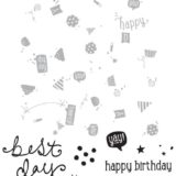 Concord & 9th – 10543 Birthday Basics Turnabout stamp set