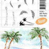 Art Impressions – 5120 WC Palm Tree