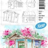 Art Impressions – 5121 WC Garden Shed