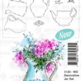 Art Impressions – 5123 WC Decorative Jar