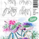 Art Impressions – 5124 WC Bicycle Set