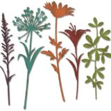 Sizzix 664164 Wildflower Stems #2 Thinlits die – out of stock
