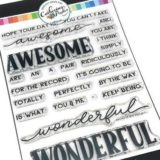 Catherine Pooler – Awesome & Wonderful stamp set