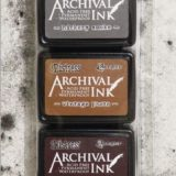 Distress Archival Ink Pads – Set 3