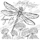 Stampendous – W182 Dragonfly Wings