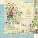 Graphic 45 – 4501862 Bloom 12×12 paper (1 sheet)
