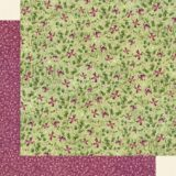 Graphic 45 – 4501867 Dainty Blossoms 12×12 paper (1 sheet)