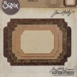 Sizzix / Tim Holtz Thinlits – 662695 Stacked Label