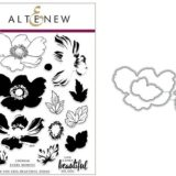 Altenew – Build A Flower: Anemone Coronaria (stamp & die bundle)