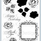 Gina K Designs – Frame and Flowers 2