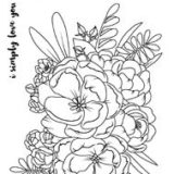 Studio Katia – Lovely Blooms stamp set