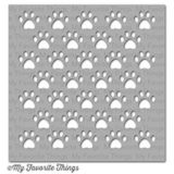 My Favorite Things – Staggered Paw Prints stencil