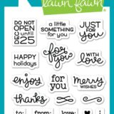 Lawn Fawn – Tiny Tag Sayings (stamp set)