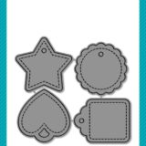 Lawn Fawn – Tiny Tags die set – out of stock