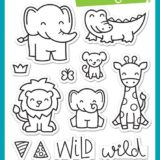 Lawn Fawn – Wild For You (stamp & die bundle)