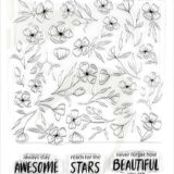 Altenew – Delicate Flower Bed stamp set