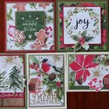 MC&S Card Kit – Kaisercraft – Peace & Joy Kit 3