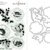 Altenew – Wallpaper Art stamp & die bundle