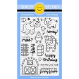 Sunny Studio Stamp – Barnyard Buddies (stamp set)