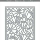 Altenew – Dainty Blooms Cover Die