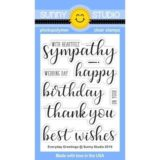 Sunny Studio Stamp – Everyday Greeting (stamp set)