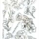 Altenew – Pen Sketched Flowers stamp