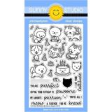 Sunny Studio Stamp – Purrfect Birthday (stamp & die set)