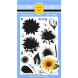 Sunny Studio Stamp – Sunflower Fields (stamp & die set)