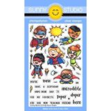 Sunny Studio Stamp – Super Duper (stamp set) – out of stock