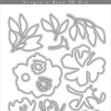 Altenew – Virginia Rose 3D die set