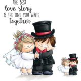 Stamping Bella – EB487 Love Story Squidgy